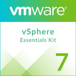 VMware vSphere 7 Essentials Kit for 3 hosts (Max 2 processors per host)